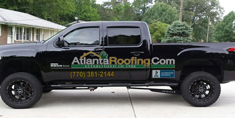 AtlantaRoofing.com Truck