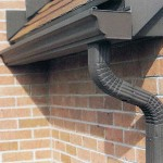 Dark Brown Gutters