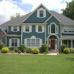 Blue Exterior Painting
