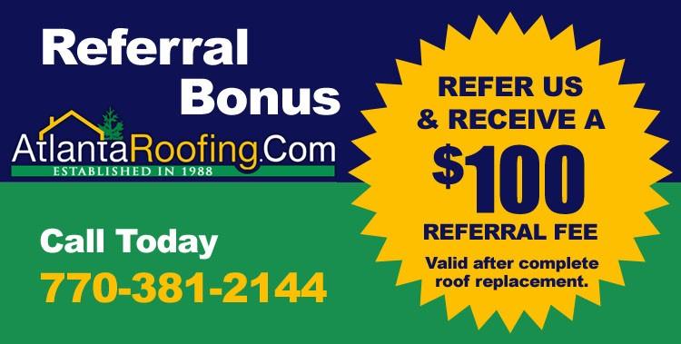 atlantaroofing.com referral bonus